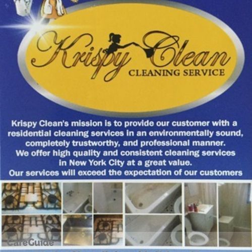 Housekeeper Provider Krispy Clean LLC's Profile Picture