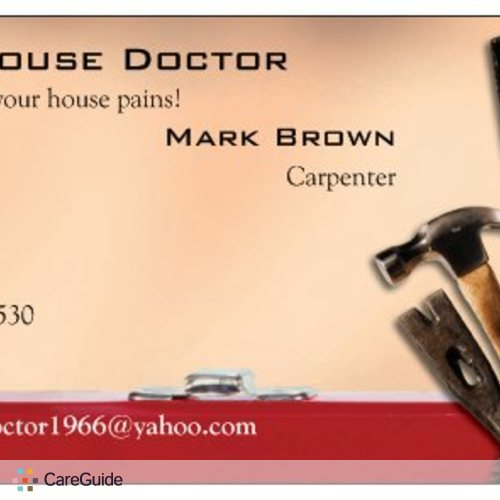 Painter Provider Mark B's Profile Picture