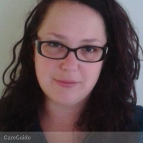 Canadian Nanny Provider Sarah Dunster's Profile Picture