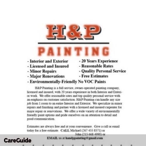 Painter Provider Michael B's Profile Picture