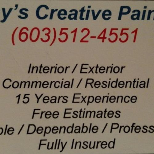Painter Provider Cathy A Gallery Image 3
