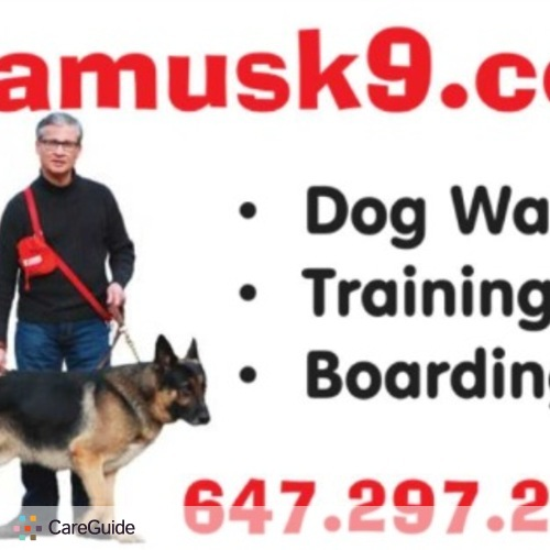 Pet Care Provider Seamus K9 Services Inc.'s Profile Picture
