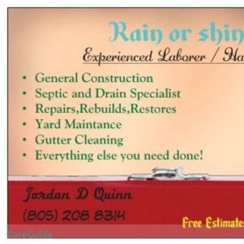 Handyman Provider Jordan Quinn's Profile Picture