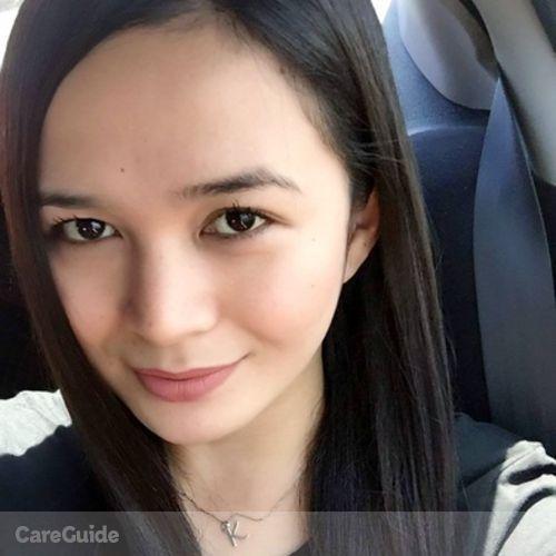 Canadian Nanny Provider Aiza Katrina Calaguas's Profile Picture