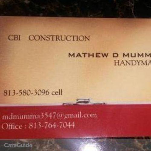 Handyman Provider Mathew Mumma's Profile Picture