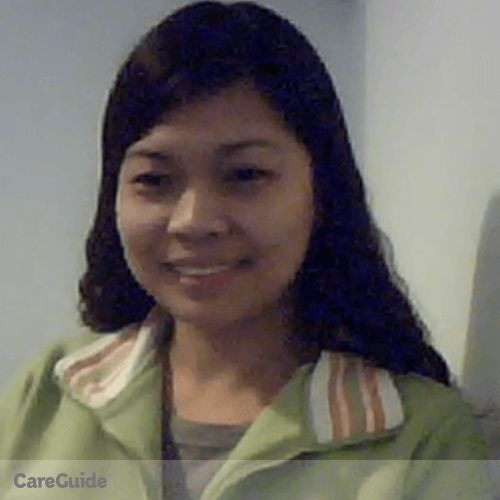 Canadian Nanny Provider Aileen Calagui's Profile Picture