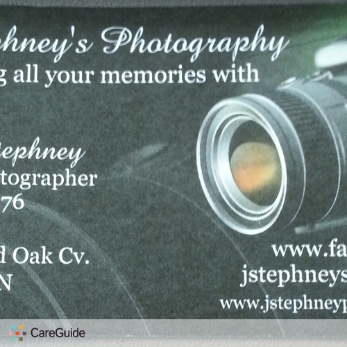 Photographer Provider James Stephney's Profile Picture