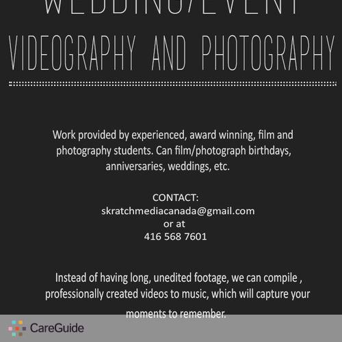 Videographer Provider Sam H's Profile Picture