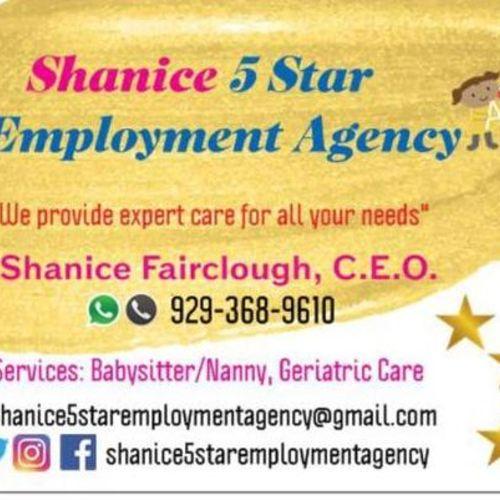 Child Care Provider Shanice F's Profile Picture