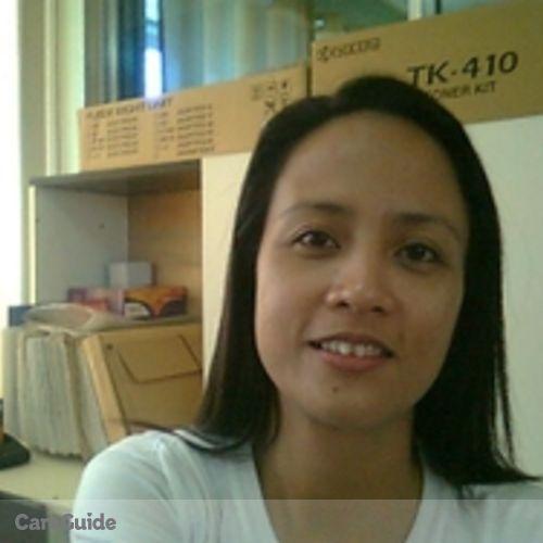 Canadian Nanny Provider Scarlet Doreen C's Profile Picture
