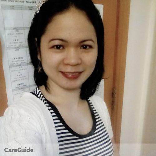 Canadian Nanny Provider Marlyn De Vera's Profile Picture