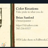 Painter in Fallbrook
