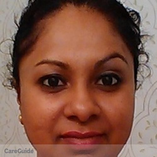 Canadian Nanny Provider Maria Mahadeo's Profile Picture
