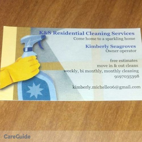 Housekeeper Provider Kimberly Seagroves's Profile Picture