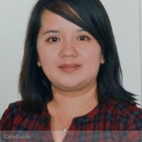 Canadian Nanny Provider Ma. Joycelen De Vera's Profile Picture