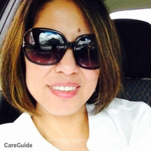 Canadian Nanny Provider Mylene V's Profile Picture