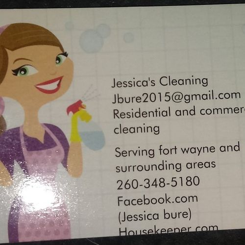 Jessicas cleaning bonded and insured