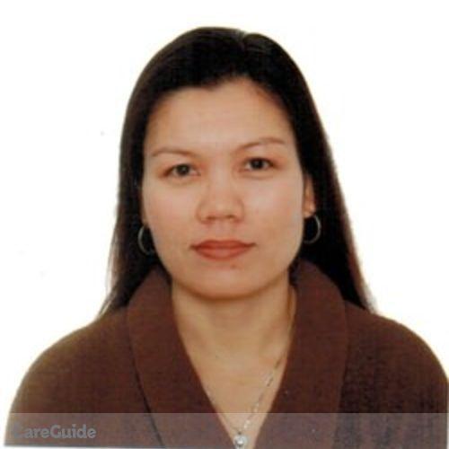 Canadian Nanny Provider Marilyn Navarro's Profile Picture