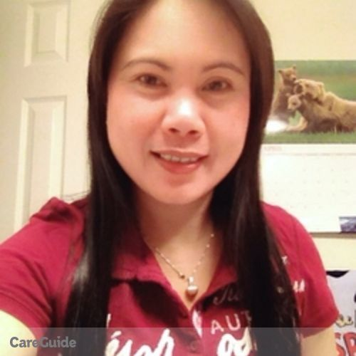 Canadian Nanny Provider Grace Mangapot's Profile Picture