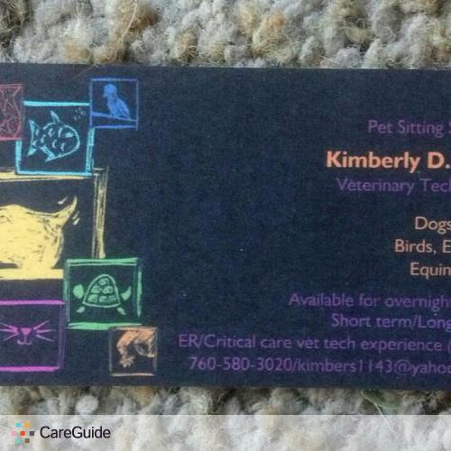 Pet Care Provider Kimberly Bair's Profile Picture