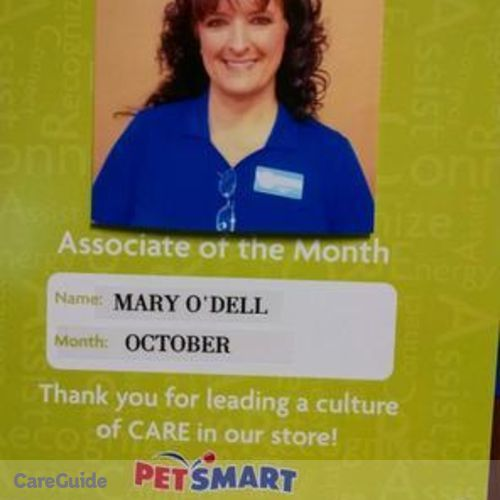 Pet Care Provider Mary ODell's Profile Picture