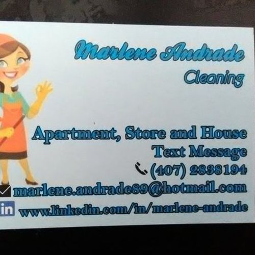 Housekeeper Provider Marlene/organizer A's Profile Picture