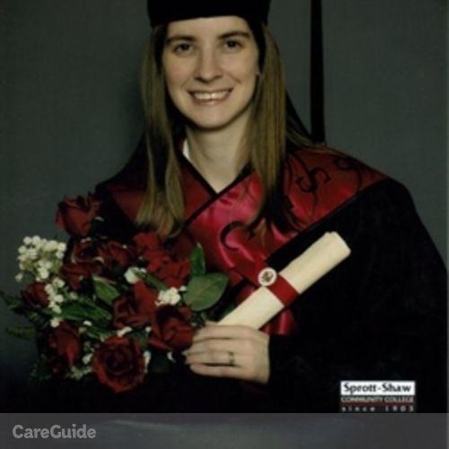 Canadian Nanny Provider Patricia E's Profile Picture