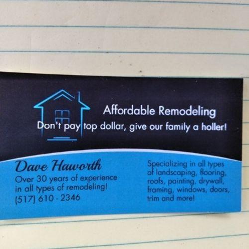 Handyman Provider Dave H's Profile Picture