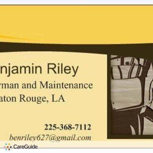 Handyman Provider Benjamin R's Profile Picture