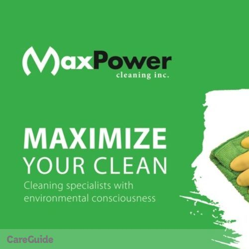 Housekeeper Provider MAXPower Cleaning's Profile Picture