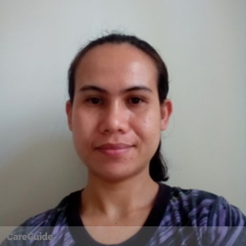 Canadian Nanny Provider Goldy Junsay's Profile Picture