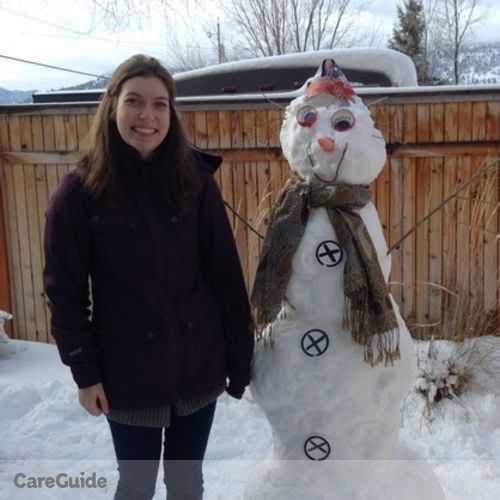 Canadian Nanny Provider Lindsey Jacobson's Profile Picture