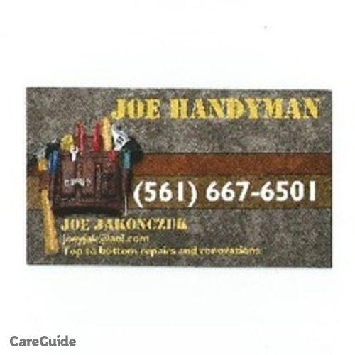 Handyman Provider Joe J's Profile Picture