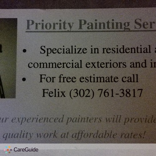 Painter Provider Felix N's Profile Picture