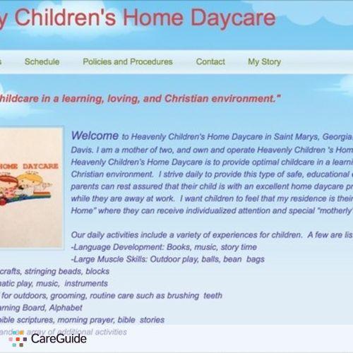 Child Care Provider Easter Davis's Profile Picture