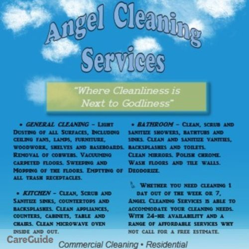 Housekeeper Provider Angel Cleaning Services's Profile Picture
