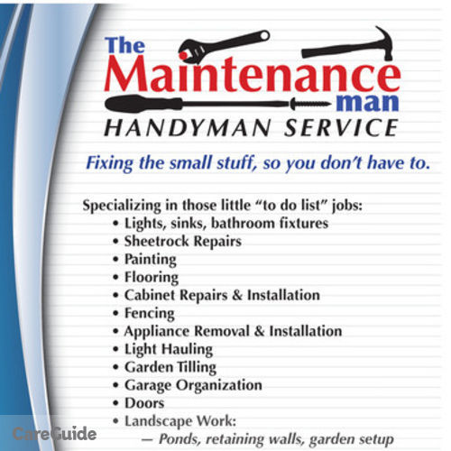 The Maintenance Man Handyman In Sioux Falls Sd
