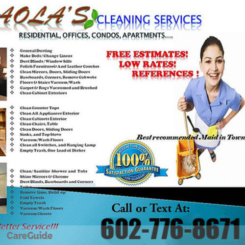 Housekeeper Provider Paola Stafford's Profile Picture