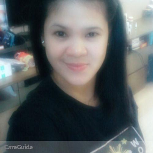 Canadian Nanny Provider Grace Ceralde's Profile Picture