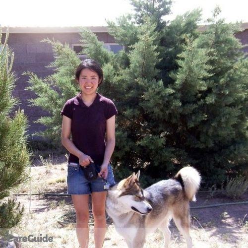 Pet Care Provider Yuwen Wang's Profile Picture