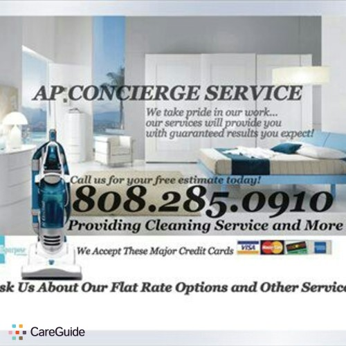 Housekeeper Provider Ap Concierge Services's Profile Picture