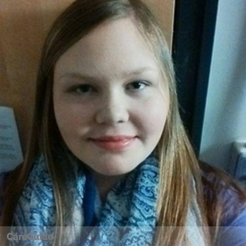 Canadian Nanny Provider Kassady Sersen's Profile Picture