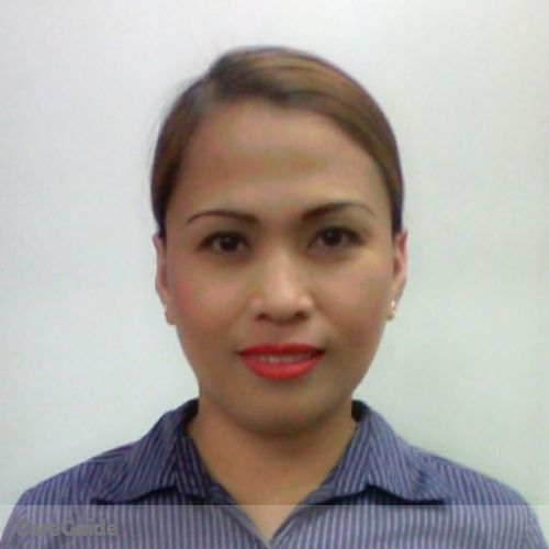 Canadian Nanny Provider Janet Paez's Profile Picture