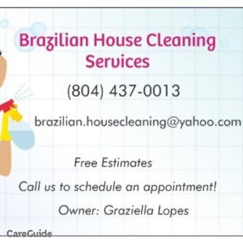 Housekeeper Provider Grazi Lopes's Profile Picture