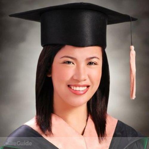 Canadian Nanny Provider Rachelle Ann Dela Calzada's Profile Picture