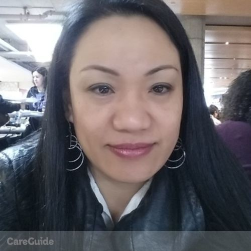 Canadian Nanny Provider Mary Lisa Sinaoy's Profile Picture