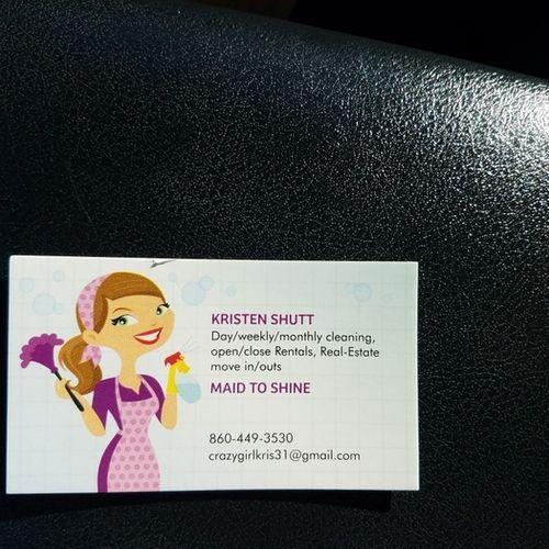Housekeeper Provider Kristen Shutt's Profile Picture