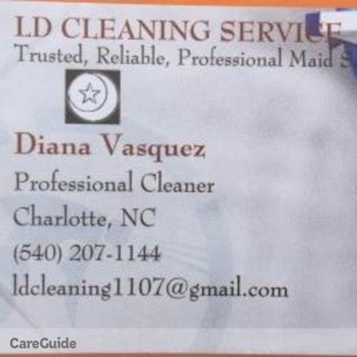 Housekeeper Provider Diana V's Profile Picture