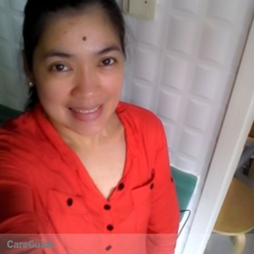 Canadian Nanny Provider Annalyn T. Egoy 's Profile Picture