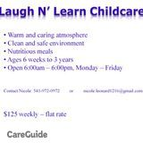 Laugh N' Learn Childcare
